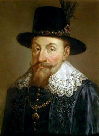 Sigismund III Vasa - Portrait by Bacciarelli