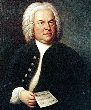 Lorenz Christoph Mizler - The portrait of Bach commissioned for his entry into Mizler's Sozietät der Musicalischen Wissenschaften