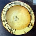 Bacino ceramico da facciata del duomo di s. miniato, nord-africa, 1190 ca. 21.JPG