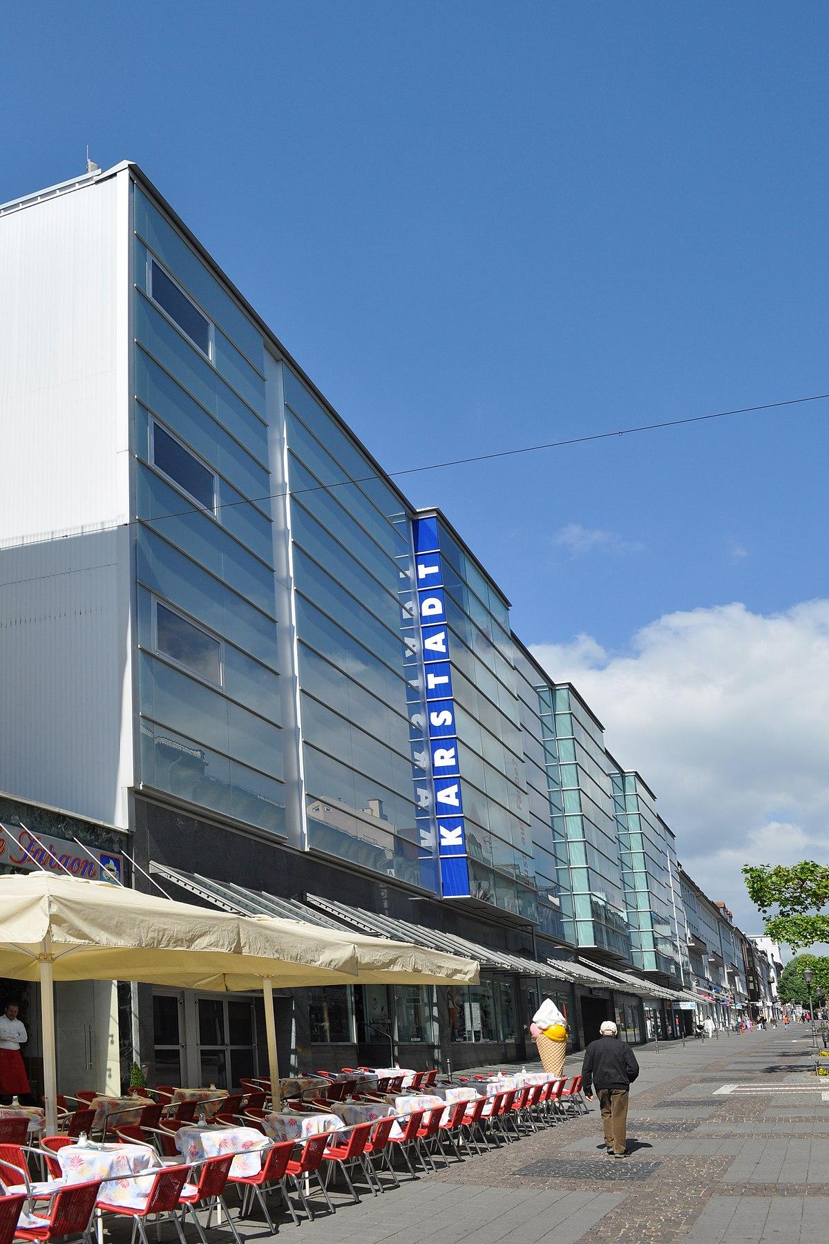 Parkhaus Karstadt Bad Homburg