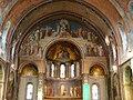 Bagnères-de-Luchon église choeur peintures.JPG