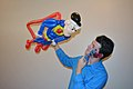 Balloon Superman figure made for a birthday party.jpg