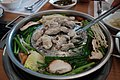 Balloon fish meat boiled with vegetables (9532598417).jpg
