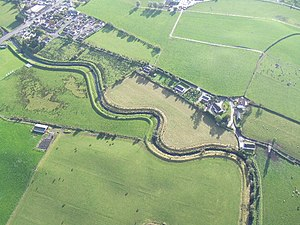 Ballymagorry - Ballymagorry from above (top left)
