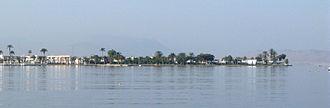 Paracas (municipality) - Paracas as seen from the Paracas Bay