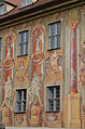 Bamberg, Obere Brücke, Altes Rathaus, Westseite, 20151019-007.jpg