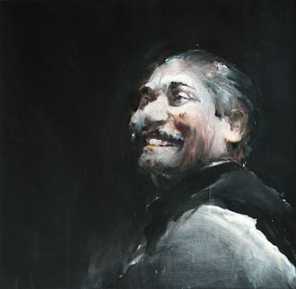 Shahabuddin Ahmed (artist) - Ahmed's depiction of Sheikh Mujibur Rahman