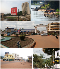 Image collage of Bangui