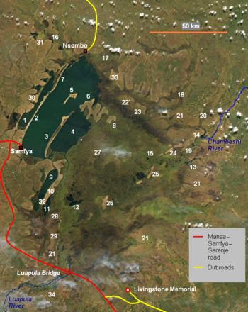 Lake Bangweulu Wikipedia