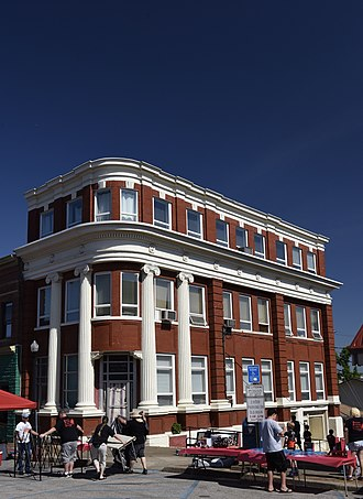 National Register of Historic Places listings in Kanawha County, West Virginia - Image: Bank of St. Albans Building