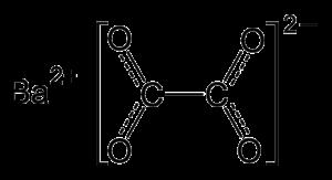 Barium oxalate - Image: Barium oxalate