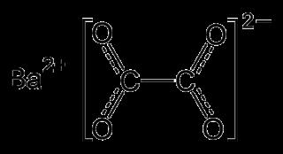 Barium oxalate chemical compound