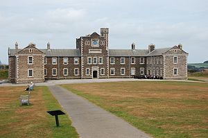 Pendennis Castle - Early 20th-century barracks