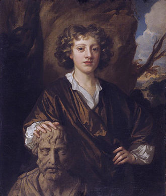 Mary Beale - Her son Bartholomew Beale (1656–1709), by Sir Peter Lely, circa 1670