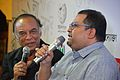 Barun Chanda and Aniruddha Roy Chowdhury Discuss - Cinemar Sahitya Na Sahityer Cinema - Apeejay Bangla Sahitya Utsav - Kolkata 2015-10-10 5729.JPG