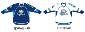 Barys Astana uniform for 2013-14 season.png