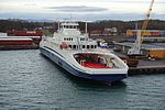 Bastø VI in Horten, Norway, before entering service.jpg
