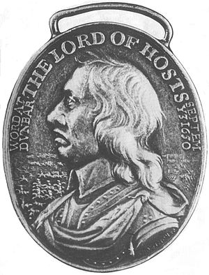 Battle of Dunbar (1650) - The Dunbar victory medal