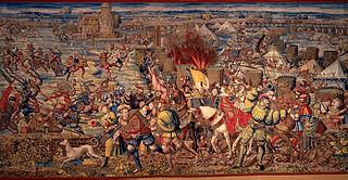 Batalla de Pavía 1525.