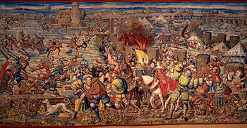 Bernard van Orley: Battle of Pavia