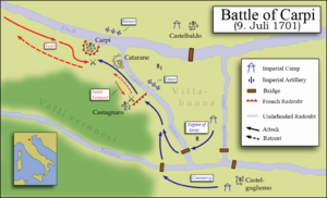 Battle of Carpi - Image: Battle of carpi