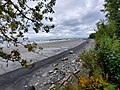 Beach from bluff at Captain Cook.jpg