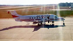 Beech 1900D Airliner of Air Transse at TokachiObihiro Japan Nov25 2006.jpg