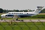 Beechcraft B300 King Air Weka Firmengruppe D-CKWM (9297740711).jpg