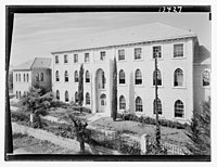 Beirut, Junior Girls' College, administrative bldg. (i.e., building), from south LOC matpc.12784.jpg