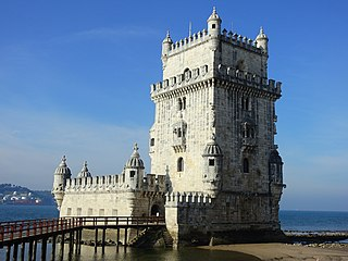 fortified tower located in the civil parish of Santa Maria de Belém in the municipality of Lisbon, Portugal