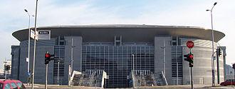 Štark Arena - Image: Belgrade Arena west