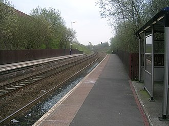 Belle Vue railway station - Image: Belle Vue railway station 1