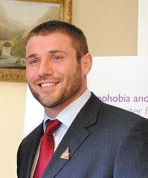 Ben Cohen (rugby union) - Image: Ben Cohen 2011