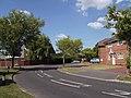 Bend in road in Rowallan Avenue - geograph.org.uk - 1375902.jpg