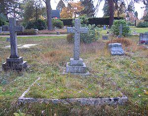 Bennet Burleigh - Burleigh's grave in Brookwood Cemetery