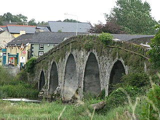 Bennettsbridge Village in Leinster, Ireland