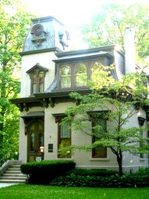 Irvington Historic District (Indianapolis, Indiana) - The Benton house