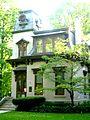 Benton House, Irvington, Indianapolis.JPG
