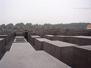 Monumento en Berlín al Holocausto