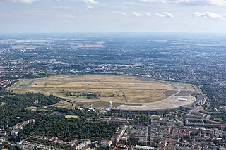 Former airport in Berlin, Germany