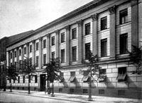 Berlin Kriegsakademie Fassade Unter den Linden