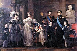 1837 in Sweden - The royal family