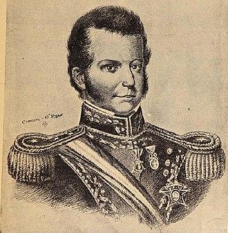 O'Higgins family - Image: Bernardo O´Higgins por Ceballos