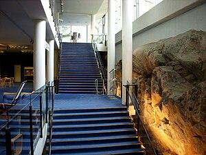 Berwaldhallen - Foyers, showing the rock
