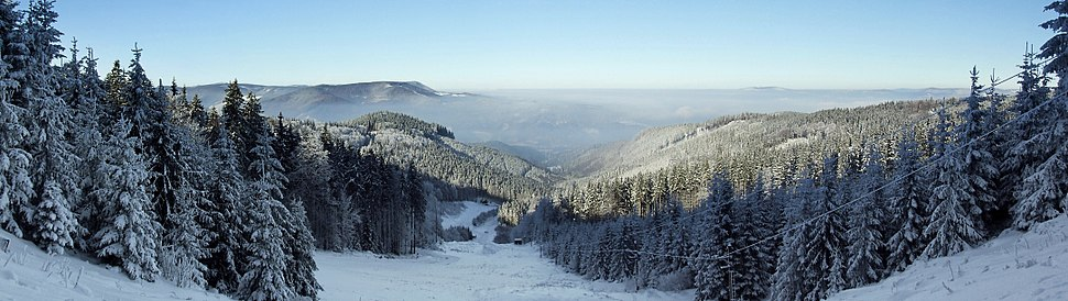 Beskid %C5%9Al%C4%85sko-Morawski - panorama 2-edit