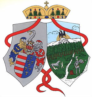 Hungary Davis Cup team - Image: Beszterce Naszod coatofarms