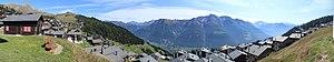 Bettmeralp - Image: Bettmeralp view