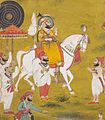 Bhim Singh (reigned 1778-1828) Watching a Celebration of the Monsoon Festival LACMA M.74.102.3 (5 of 5).jpg
