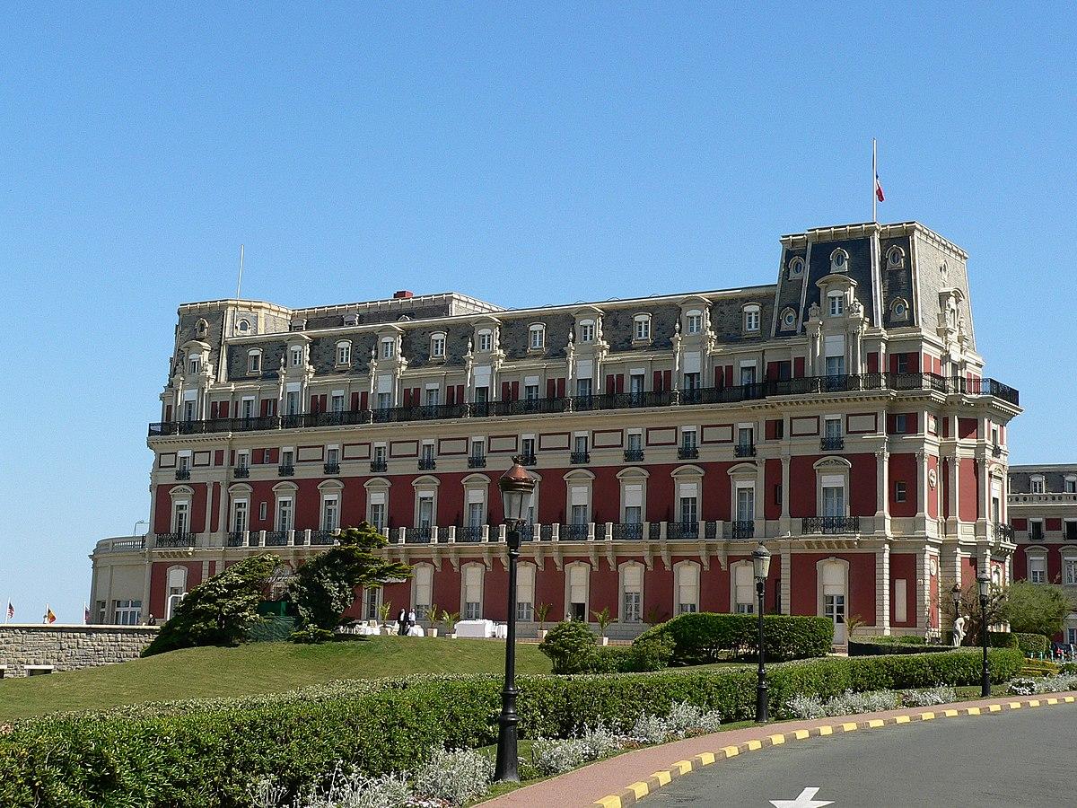 Biarritz wikip dia a enciclop dia livre - Prix chambre hotel du palais biarritz ...