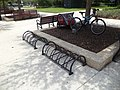 Bicycle racks, St. Augustine.JPG